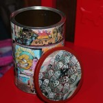How To Turn a Tin Can Into an Mini-Advertising Column