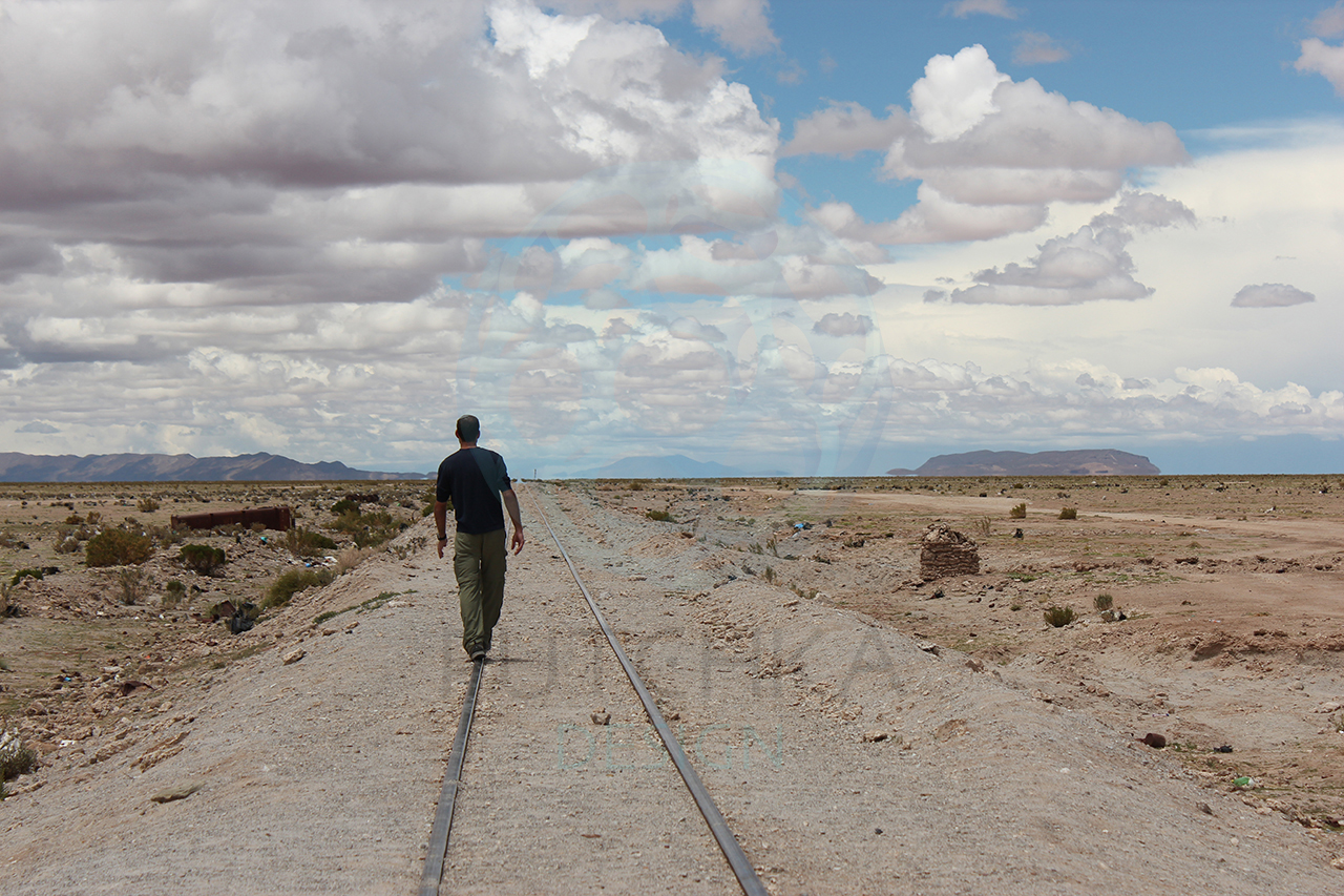 Walking-Train-Tracks-Bolivia