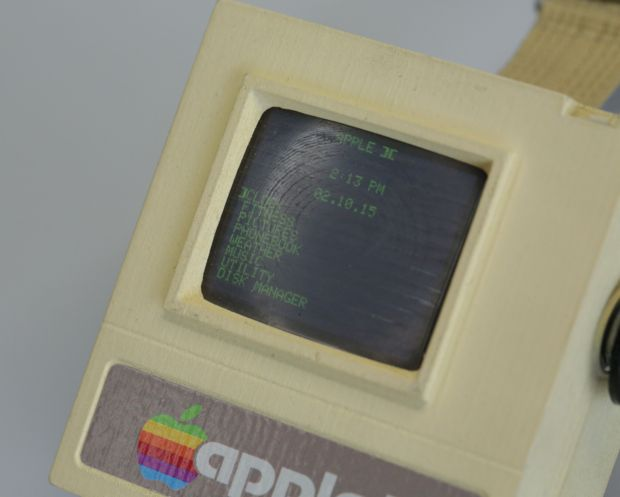 Apple II Watch DIY Project